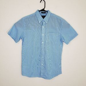 Saddlebred Easy Care Short Sleeves Shirt Size M